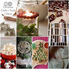 16 Christmas Crafts, Food, and Decor. Tons of Christmas decor ideas perfect for your Christmas home.