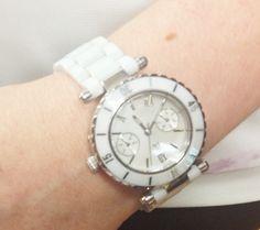 Montre blanche -- White watch