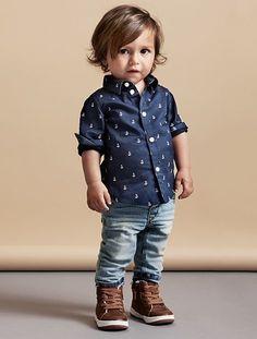 Kinderen | Baby jongens 68-92 | Overhemden | Mijn selectie | H&M NL