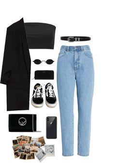 Fall outfit mom jeans lapel pin on stylevore Kpop Outfits, Trendy Outfits, Fall Outfits, Cute Outfits, Look Fashion, Korean Fashion, Fashion Women, 50 Fashion, Fashion Styles