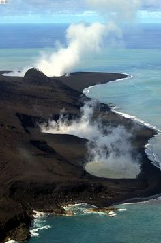 A new island is born - tongan volcano by roan lavery, via Flickr