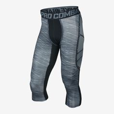 Nike Pro Combat Hypercool Hyperflash Compression 3/4 Men's Tights