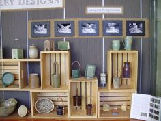 . Pottery Booth Display, Craft Stall Display, Craft Booth Displays, Mug Display, Display Ideas, Booth Ideas, Craft Show Table, Craft Fair Table, Craft Show Booths
