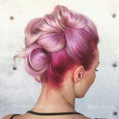 Pink hair #bright #hair