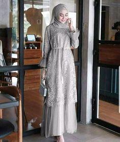 Product Name: Humaira dress. Dress Brukat, Hijab Dress Party, Kebaya Dress, Dress Pesta, The Dress, Kebaya Hijab, Muslim Fashion, Hijab Fashion, Fashion Outfits
