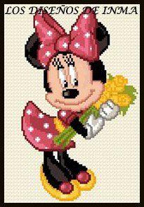 PDF Gráfico Punto de Cruz, Disney 22, Disney Punto de Cruz, Disney, Disney Cross Stitch Pattern