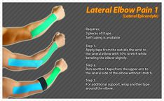 Lateral Elbow Pain #Ares #Kinesiology #Tape #Taping