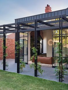 Outdoor Areas, Outdoor Rooms, Outdoor Pergola, Outdoor Kitchens, Outdoor Structures, Recycled Brick, Casa Loft, Edwardian House, Outdoor Entertaining