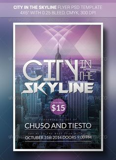 City In The Skyline | Flyer