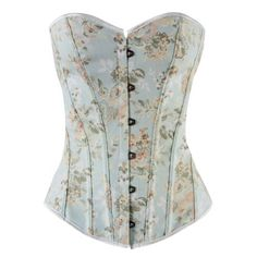 Women's Vintage Lace up Floral Denim Corset Bustier Lingerie (L, Blue flower) Homucloth http://www.amazon.com/dp/B00KILC6F8/ref=cm_sw_r_pi_dp_1M.Tub0X8GZSY
