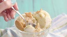 Banana Pudding No-Churn Ice Cream  - Delish.com