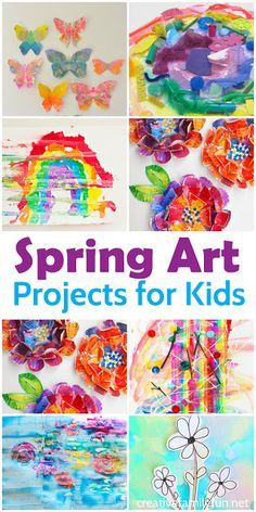 Creative Family Fun: Beautiful Spring Art Projects for Kids