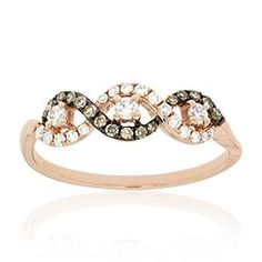 Shop online Mocha Diamond RSD-10361 Rose Gold DIAMOND Rings  at Arthur's Jewelers. Free Shipping