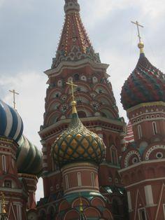 basilique Basile-le- Bienheureux Place Rouge Moscou Magnifique!