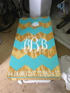 """New design for boards - one black and one gold... with UCF in the middle as """"monogram"""".  YES!"""