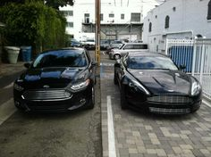 2013 Ford Fusion & Aston Martin. #inlandempire #sunriseford #southerncalifornia. My current car on the left . Love it ...
