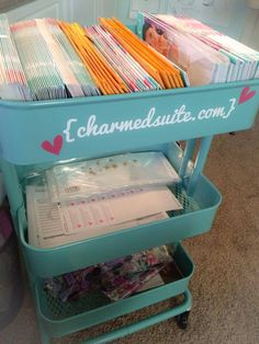 Ikea hack, great for #OrigamiOwl designers! Http://www.charmedsuite.com