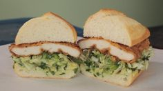 the chew | Recipe  | Bakesale Betty's Buttermilk Fried Chicken Sandwich, the one they're lining up for, yummy!