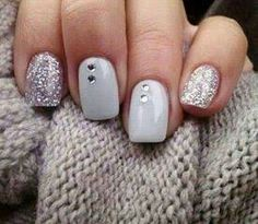 Glitter and gray