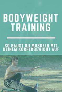Du willst Muskeln mit reinem Körpergewicht aufbauen? Calisthenics ist speziell für Anfänger eine gute Variante um sich fit zu halten.