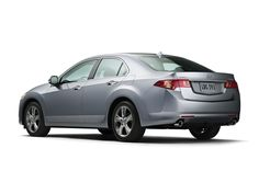 Acura TSX -- I'd go with the black exterior...