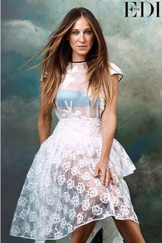 Sara Jessica Parker for The Edit