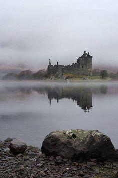 Campbell's Kingdom. Kilchurn Castle, Scotland