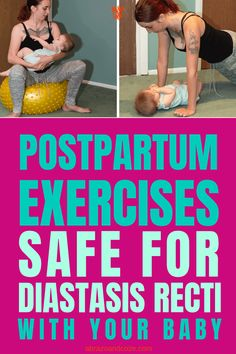 Simple exercises you can do with your baby as you ease back into a fitness routine after giving birth. Indoor Activities, Physical Activities, Family Activities, Becoming Mom, Simple Yoga, Family Fitness, After Giving Birth, Family Outing, Baby Girl Names