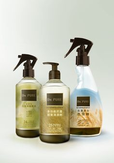 Packaging Logo Design, Graphic Design, Soap, Packaging, Personal Care, Pure Products, Bottle, Logos, Self Care