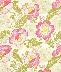Amy Butler Fresh Poppies Fuchsia Fabric - $5.68   onlinefabricstore.net