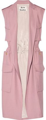Acne Studios Sleeveless twill trench coat
