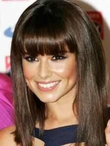 Full fringe hairstyle
