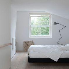 Kleines Schlafzimmer Einrichten Weiß Grau Gute Kombination ... Schlafzimmer Einrichten Wei