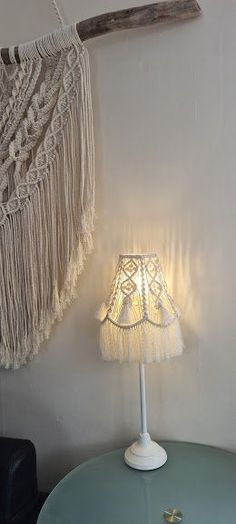 Handmade Decorative Table lamp,Beautiful Lamp with shade,Modern Macrame home decor, Tassel Lamp shade,UK Seller, Free Delivery Wall Hanging Shelves, Large Macrame Wall Hanging, Wooden Shelves, Lamp Shades Uk, Unique Housewarming Gifts, Handmade Christmas Decorations, Amazing Gifts, New Home Gifts, Modern Wall Art
