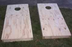DIY Cornhole Boards--because sometimes you just have to take cornholing into…