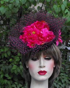 Custom hats millinery Kentucky Derby women's hats mens Gena Conti couture casual Millinery MI