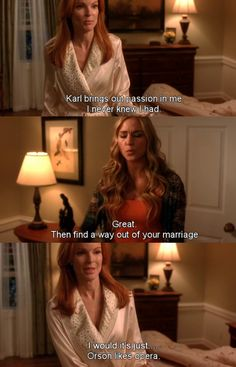 Karl brings out passion ~ Desperate Housewives Quotes ~ Season 6, Episode 8: The Coffee Cup #amusementphile
