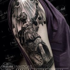 Dark Side Tattoo Society — Lady justice                                                                                                                                                      Mais