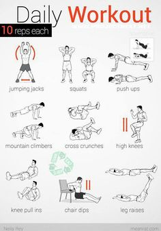 An Easy Equipment Free Workout
