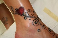 This one - with wedding date in the heart