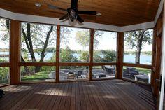 three season porch Sunroom Kits, Porch Kits, Porch Ideas, Pergola Ideas, Sunroom Ideas, Outdoor Ideas, Screen Porch Systems, Four Seasons Room, Three Season Porch