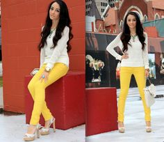 From Maytedoll blog. Love the yellow jeans!