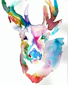 Print of Original Watercolor Painting Titled by ArtbyJessBuhman, $31.19