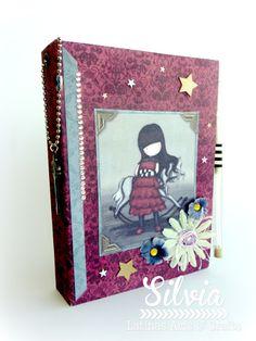 Silvia Scrap: Tutorial 65 en Latinas Arts & Crafts. Porta libreta
