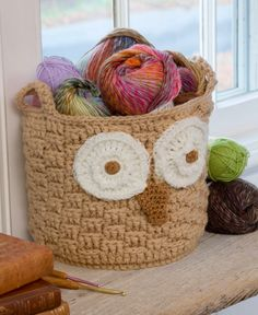 ColoridoEcletico: Owl Basket - Recipe