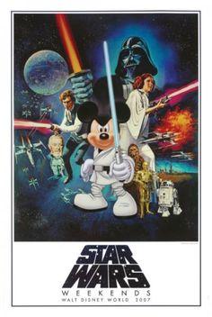 Star Wars Weekends poster
