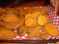Mojo's and Fried Chicken from Shakeys pizza in Los Angeles