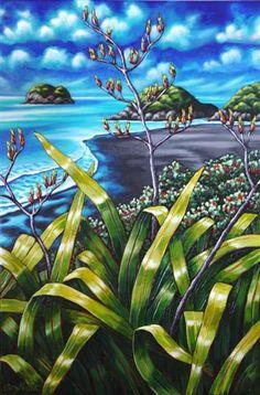 Caz Novak New Zealand Artist Pacifica Coastal NZ Art Abstract Sculpture, Sculpture Art, Metal Sculptures, Bronze Sculpture, New Zealand Landscape, New Zealand Art, Nz Art, Les Cascades, Maori Art
