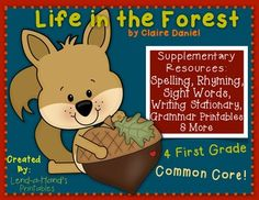 LIFE IN THE FOREST Teacher Pack by Ms. Lendahand:)