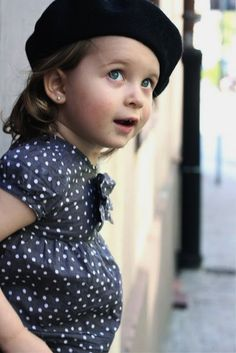 Love French, French Style, French Country, French Farmhouse, Fairy Tales For Kids, Kid Styles, Dot Dress, Little Girls, Kids Fashion